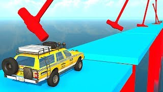 BeamNG.drive - Car Wipeout Challenge
