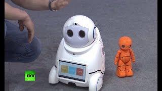 «Помогу с уроками, посижу с детьми» — в Китае показали домашних роботов