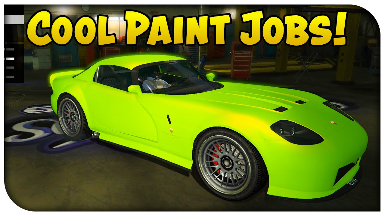 Gta 5 Online Touch Up Tuesday Neon Green Luxury Red
