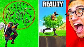 FORTNITE EXPECTATIONS vs. REALITY CHALLENGE! #2