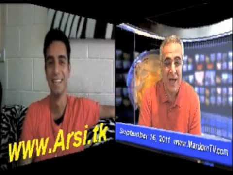 Arsi Nami Live interview with Mardom TV (Sep 16 2011)
