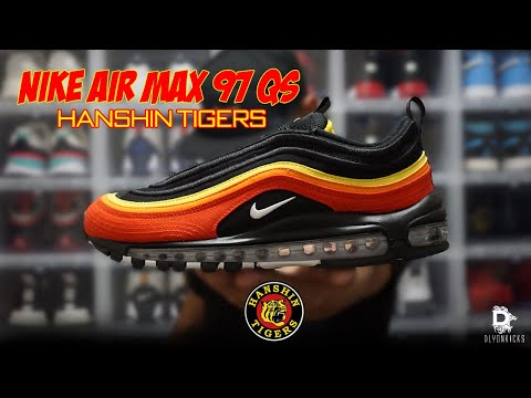 "NIKE AIR MAX 97 QS ""HANSHIN TIGERS"" REVIEW/ON-FEET (EN ESPAÑOL)"