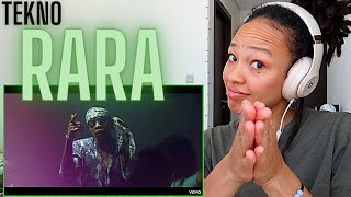 Happy Independence Day Nigeria 🇳🇬  Tekno - Rara (Official Video) [REACTION!!]