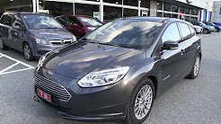 New Ford Focus Electric test drive