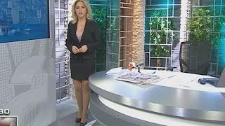Hilal Ergenekon Beautiful Turkish Tv Presenter 23.01.2013 2017 Video