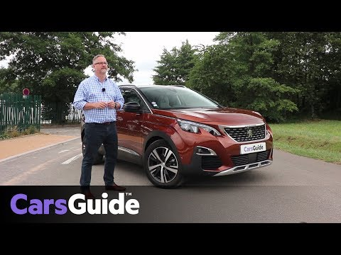 Peugeot 3008 2017 review: first drive video