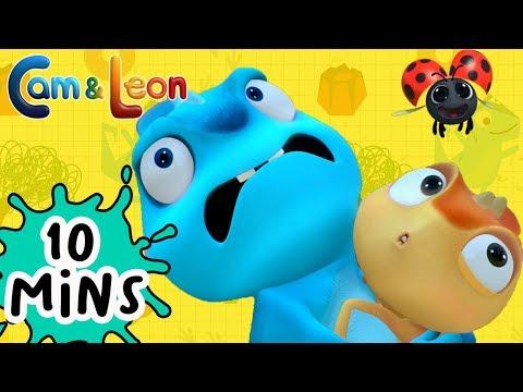 Hilarious Children Cartoon | 10 Minutes Compilation #3 | Cam & Leon