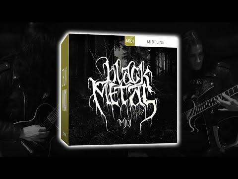 Toontrack Black Metal MIDI Pack