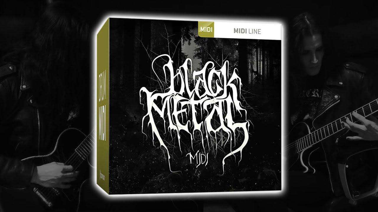 toontrack black metal midi pack youtube. Black Bedroom Furniture Sets. Home Design Ideas