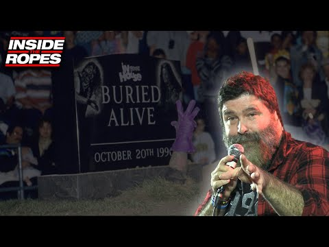 Mick Foley Tells Great Story About Buried Alive Match Against Undertaker