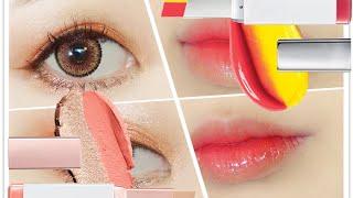 TWO-TONE Eye & Lip Make