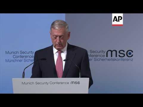 Mattis reiterates NATO burden-sharing message