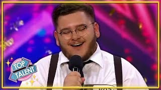 GOLDEN BUZZER | UNBELIEVABLE Opera Audition On Croatia's Got Talent | Top Talent