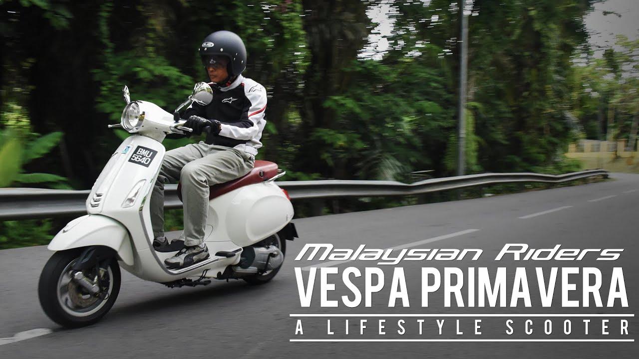 Vespa Primavera: A Lifestyle Scooter -- Ep.3 - YouTube