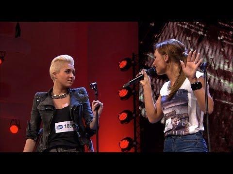 "DSDS 2014 Jil-Beatrice, Sarah, Jacqueline und Maxi mit ""Beautiful"" von Christina Aguilera"