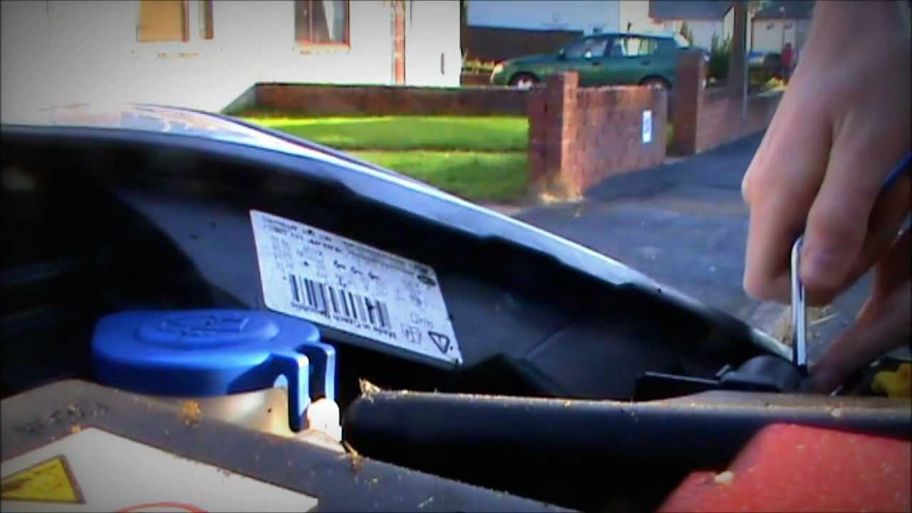 Ford Fiesta Mk7 Headlight Wiring Diagram Mercury Optimax 115 Replacement Youtube