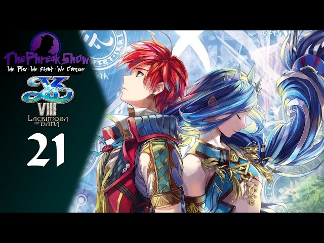 Let's Play Ys VIII Lacrimosa Of DANA - Part 21 - Wolf Pack Attack!