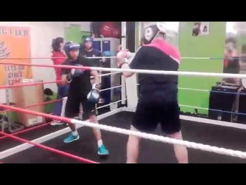Anthony Hickey Sparring