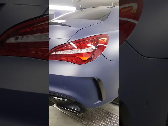 Mercedes Benz CLA 45 AMG   Komplettfolierung