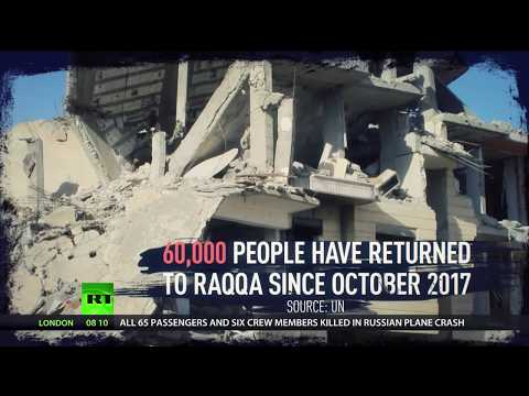 'Ghost city' of Raqqa: Civilians struggle to survive without electricity & proper water supply