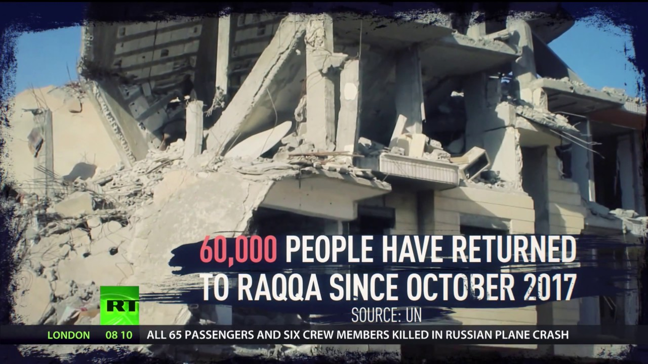 Download 'Ghost city' of Raqqa: Civilians struggle to survive without electricity & proper water supply