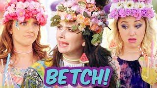 GIRLS AT COACHELLA BE LIKE - Betch!