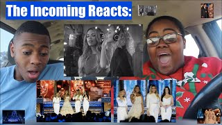 FEELS COVER, HOLIDAY CELEBRATION, DINAH JANE & LEONA LEWIS CHRISTMAS MEDLEY | REACTION