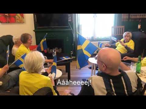 Heja Sverige, friskt humör!