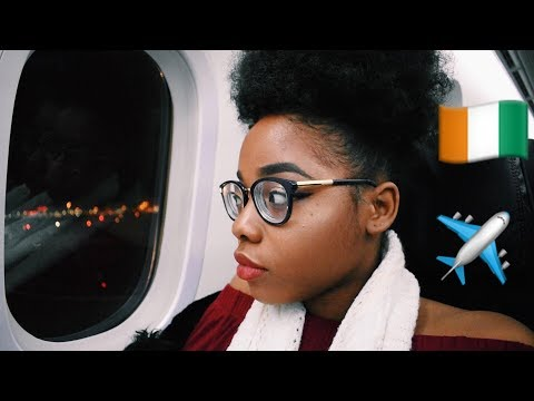 TRAVELING TO IVORY COAST | VLOGMAS EDITION
