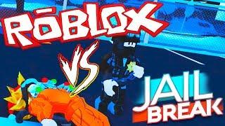 TEAM SUBS VS TEAM POLICIAS | JAILBREAK | ROBLOX