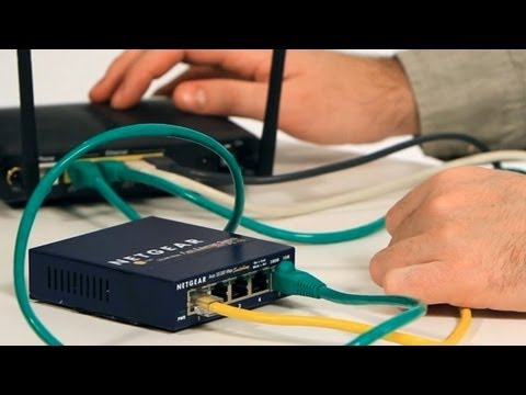 How to Set Up an Ethernet Switch | Internet Setup