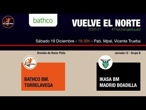 Bathco BM Torrelavega - Ikasa BM Madrid Boadilla