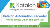Kantu Browser Automation, a Selenium IDE for Chrome - Open