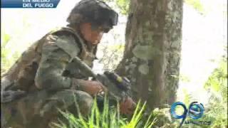 Mayo 31 de 2012. Combates entre Ejército y guerrilla al norte del Cauca