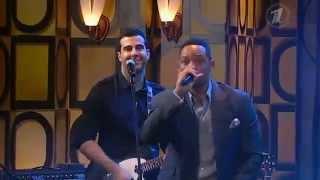"""Will Smith and presenters of """"Prozhektorperiskhilton"""" sing Stevie Wonder's """"I wish"""" )"""
