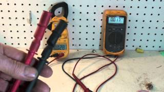 Alligator clamps for test meter leads
