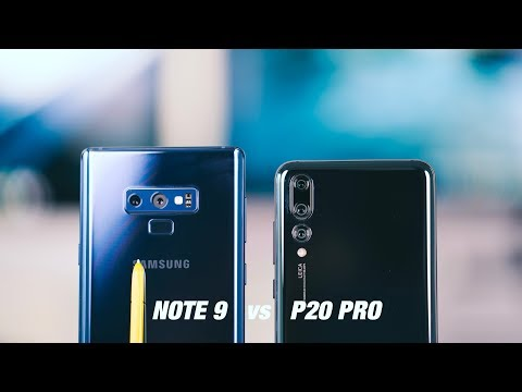 Samsung Galaxy NOTE 9 vs Huawei P20 PRO - BEST SMARTPHONE CAMERA of 2018???