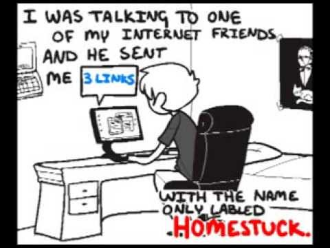 don t read a webcomic called homestuck vostfr youtube