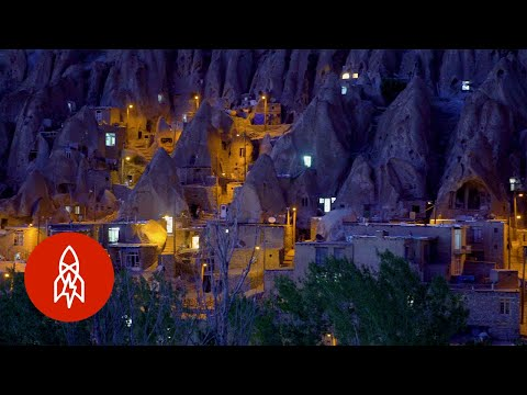 In Iran, A Village Among Volcanic Rocks
