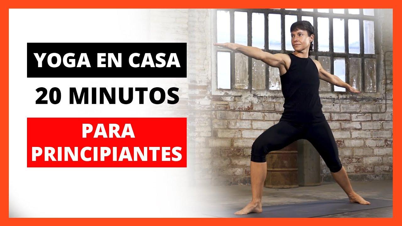 sesion de yoga para principiantes