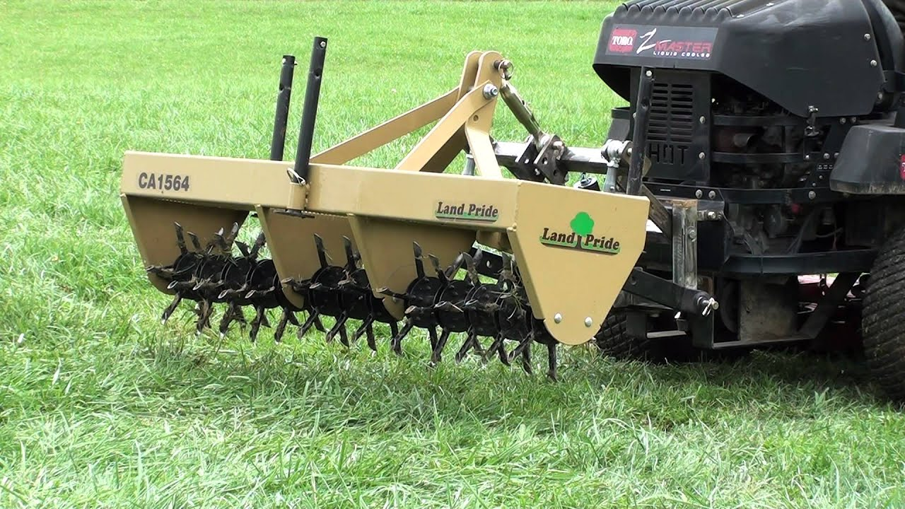 3 Point Hitch Lawn Aerator : Utv hitchworks farmboy ld with aerator on the z master