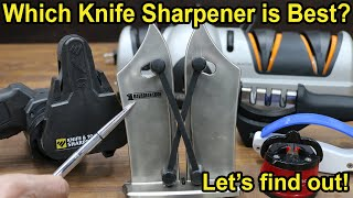 Which Knife Sharpener is Best? Let's find out!
