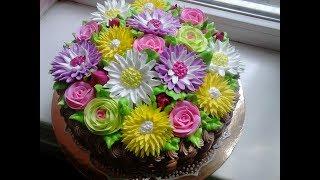 Торт Цветочная карзина