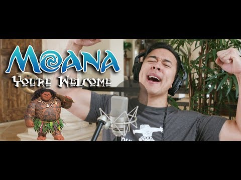 YOU'RE WELCOME - Disney's MOANA - Dwayne