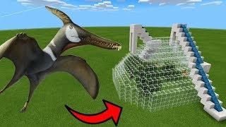 How To Make a LUDODACTYLUS Water Slide in Minecraft PE
