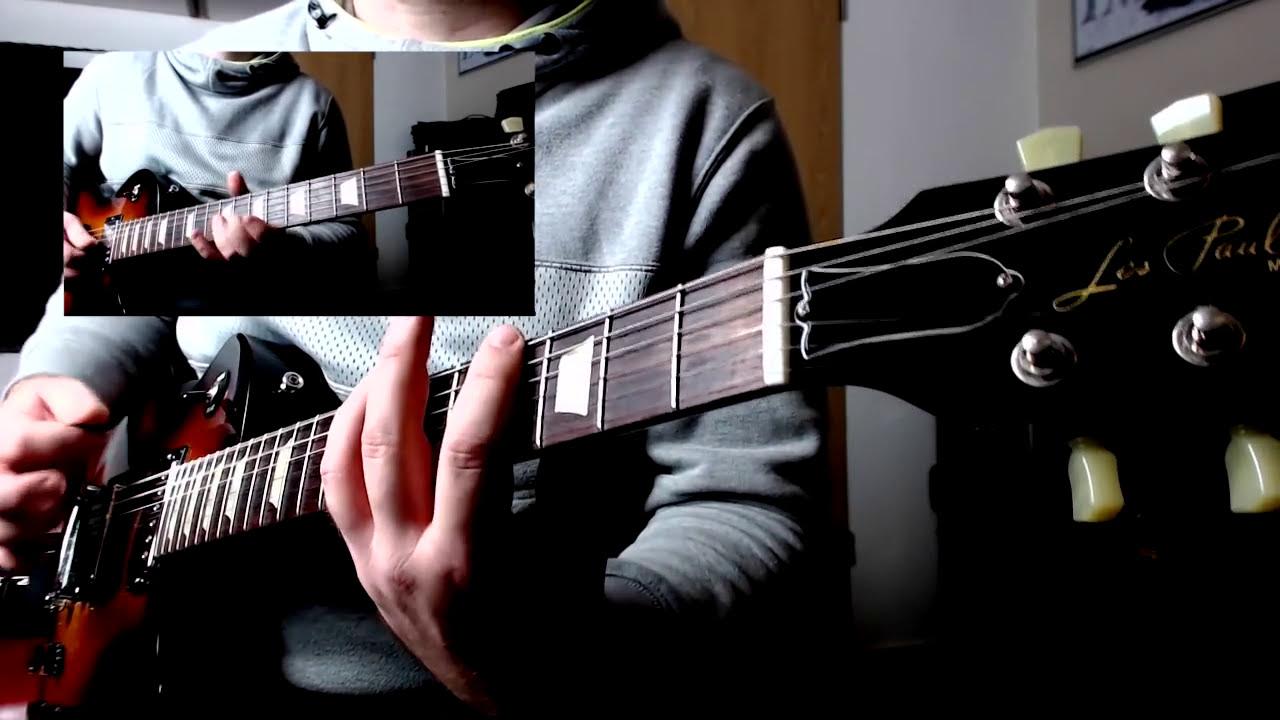 gibson les paul pickup comparison gibson 498t vs bare knuckle painkiller youtube. Black Bedroom Furniture Sets. Home Design Ideas