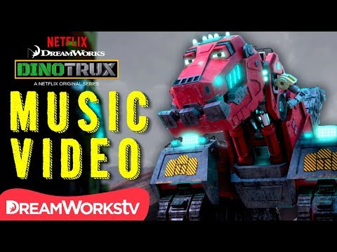 [MUSIC VIDEO] Dinotrux Supercharged REMIX | DINOTRUX