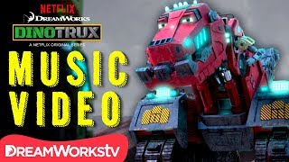 [MUSIC VIDEO] Dinotrux Supercharged REMIX | DINOTRUX