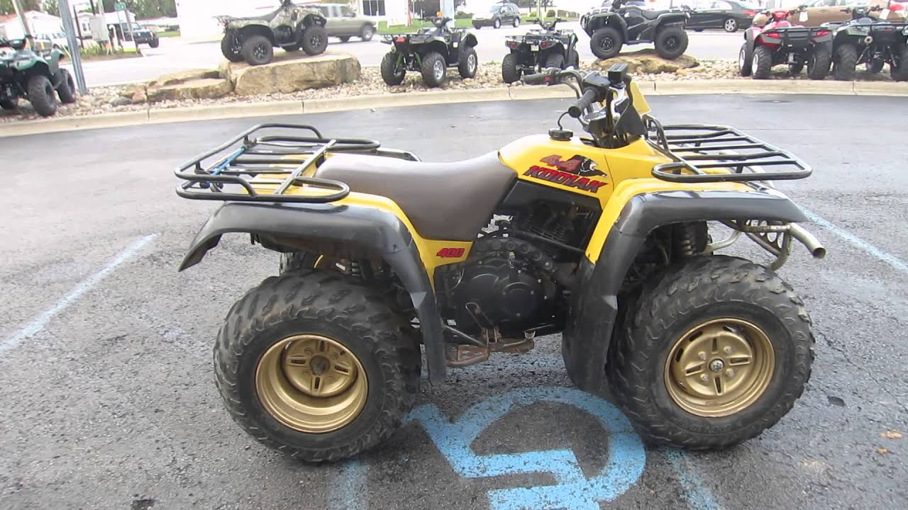 1995    Yamaha       Kodiak       400       4x4    For Sale at Mantown Powersports  YouTube