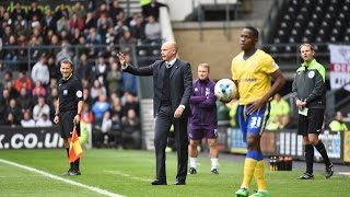 'OTHERS WOULD HAVE CRUMBLED' - UWE ROSLER POST DERBY COUNTY